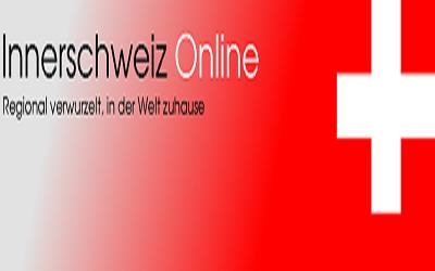 Homepage aller Innerschweizer Gemeinde durch Klick auf das jeweilige Kantonswappen erreichbar n