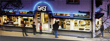 "Radio/Tv/HIFI Rast Bahnhofstrasse 29,Sursee,"" Neu: Hinter Brille Fielmann """