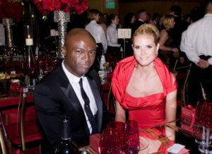 Seal mit seiner Exfrau Heidi Klum