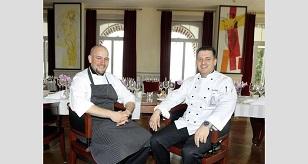 Zwei mit Zukunft! Florian Gilges (r.) und sein Vize Michael Schnölzer zaubern im Park Hotel Weggis am Vierwaldstättersee.
