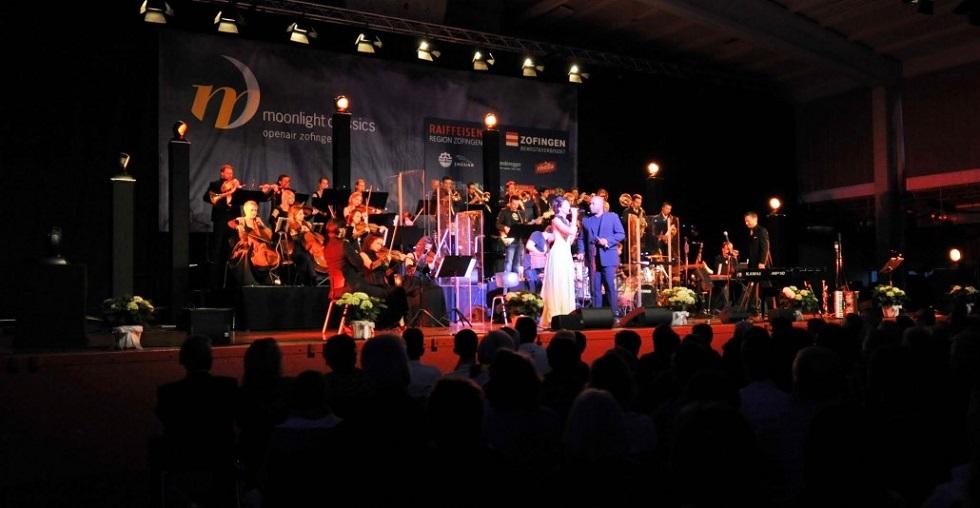 Christoph Walter Orchestra am Moonlight Classics 2015 in Zofingen