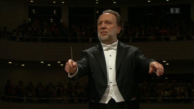 Riccardo Chailly Cefdirigent des Lucerne Festival Orchestras