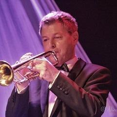 Christoh Walter mit Trompete
