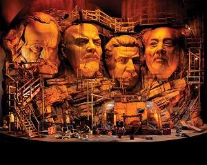 Frank Castorf's Set für Siegfried