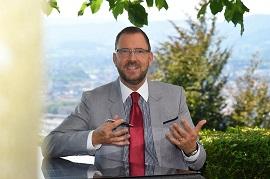 Stiftungsratspräsident und  Nationalrat Hans-Peter Portmann